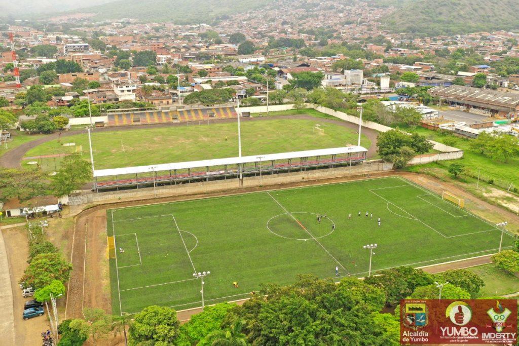 Cancha Auxiliar Sintética Del Estadio Raúl Miranda